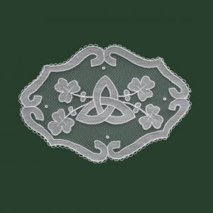 Carrickmacross Lace Small St.Bridget's Cross
