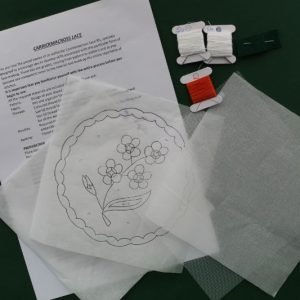 Carrickmacross Lace Flower Kit