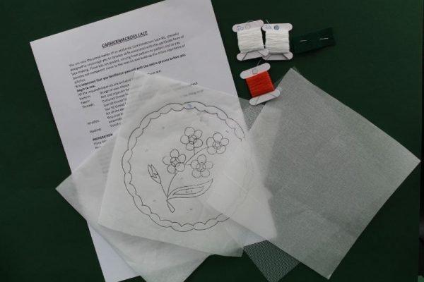 Carrickmacross Lace Flower Kit