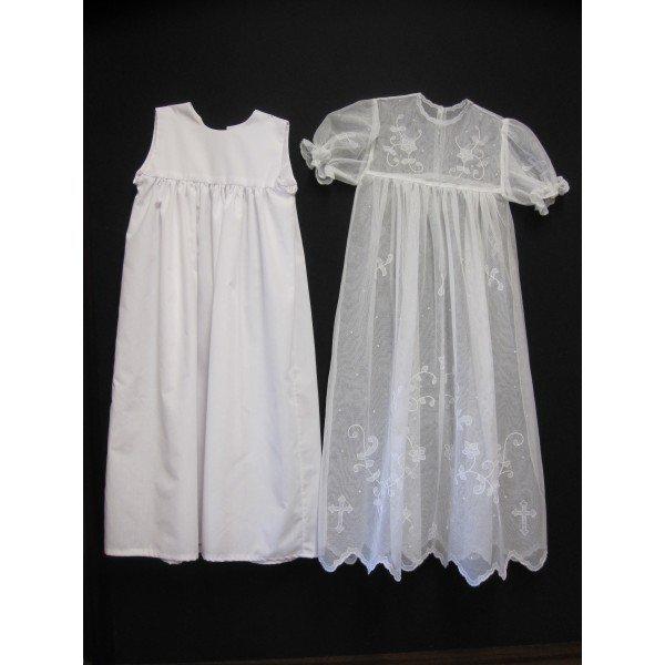 Carrickmacross Lace handmade-irish-lace-christening-gown