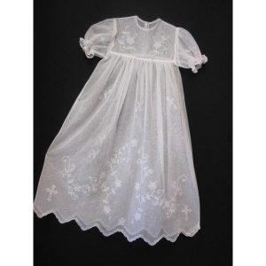 handmade-irish-lace-christening-gownCarrickmacross Lace
