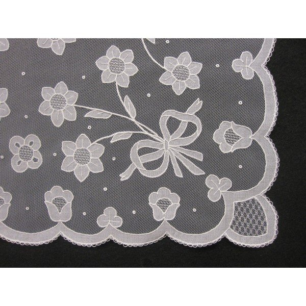 Carrickmacross Lace handmade-lace-tray-cloth