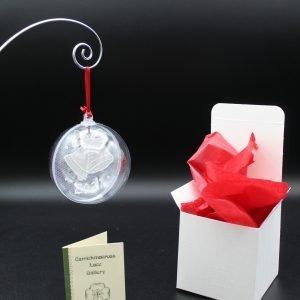 Carrickmacross Lace Bells 2021 Christmas Bauble