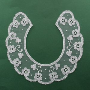 Carrickmacross Lace Collar