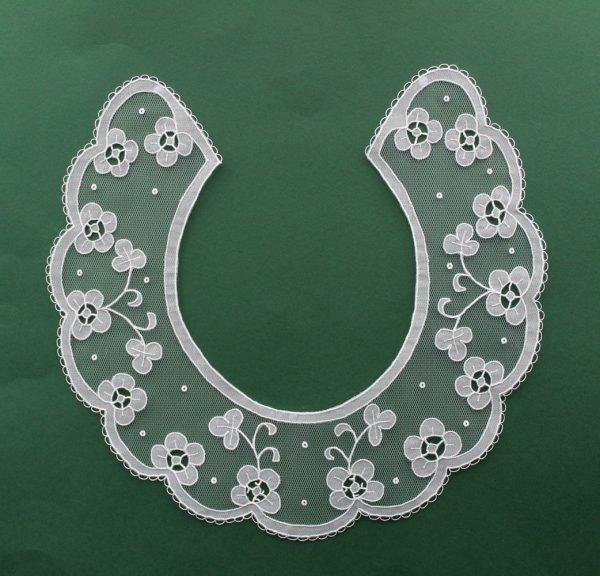 Carrickmacross Lace Collar