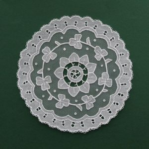 Carrickmacross Lace Doily