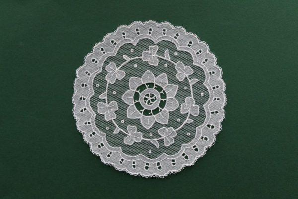Carrickmacross Lace Doily