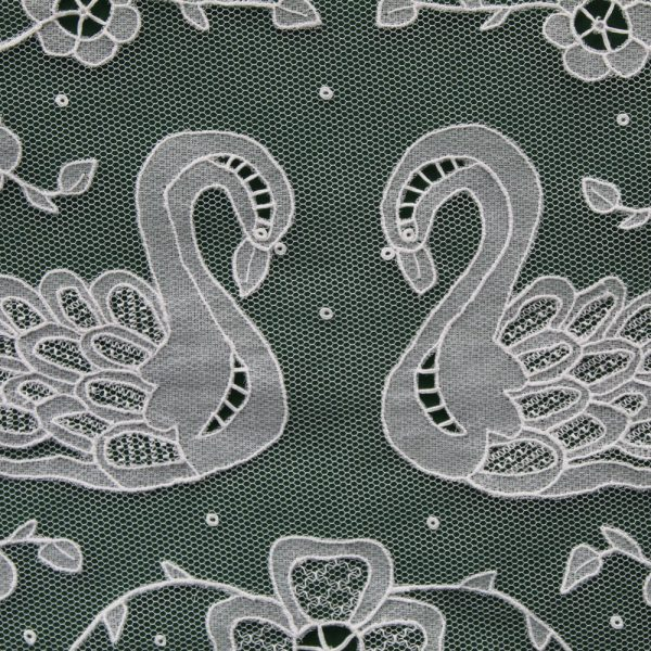 Carrickmacross Lace Double-Swans