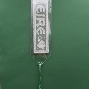 Carrickmacross Lace Bookmark - Eire