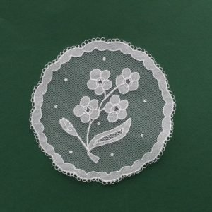 Carrickmacross Lace Flower Spray