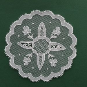 Carrickmacross Lace Four Points
