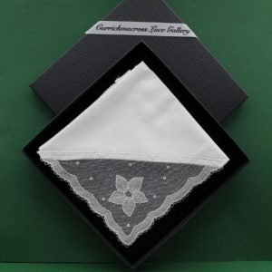 Carrickmacross Lace Handkerchief Flower