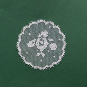 Carrickmacross Lace Horseshoe