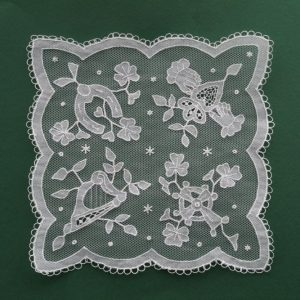 Carrickmacross Lace Irish Symbols