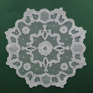 Carrickmacross Lace Large Flower & Filling