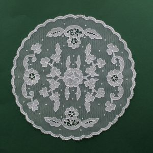 Carrickmacross Lace Openwork Piece