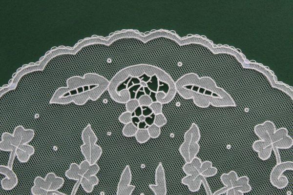 Carrickmacross Lace Openwork Piece