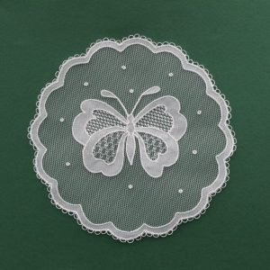 Carrickmacross Lace Round Butterfly Kit