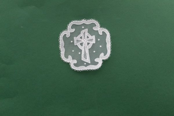 Carrickmacross Lace Square Cross