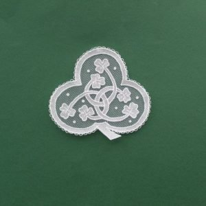 Carrickmacross Lace Trinity Knot