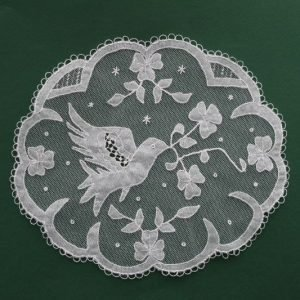 Carrickmacross Lace Bird in Flight