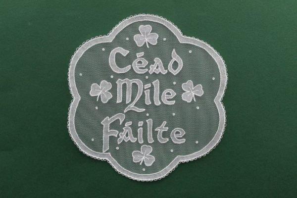 Carrickmacross Lace Cead Mile Failte
