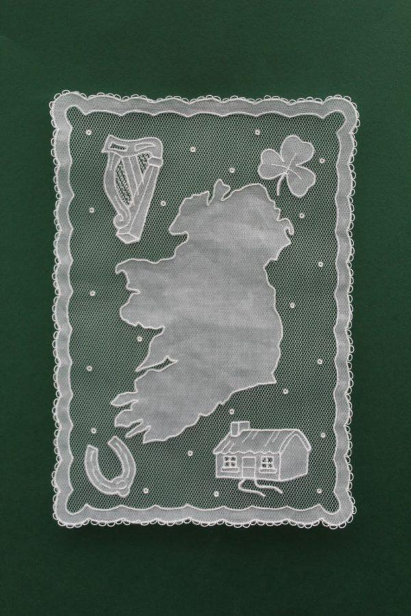 Carrickmacross Lace Ireland 4 Corners