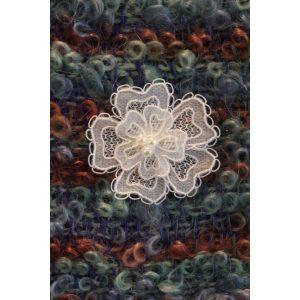 Carrickmacross Lace Brooch