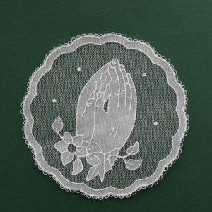 Carrickmacross Lace Praying Hands
