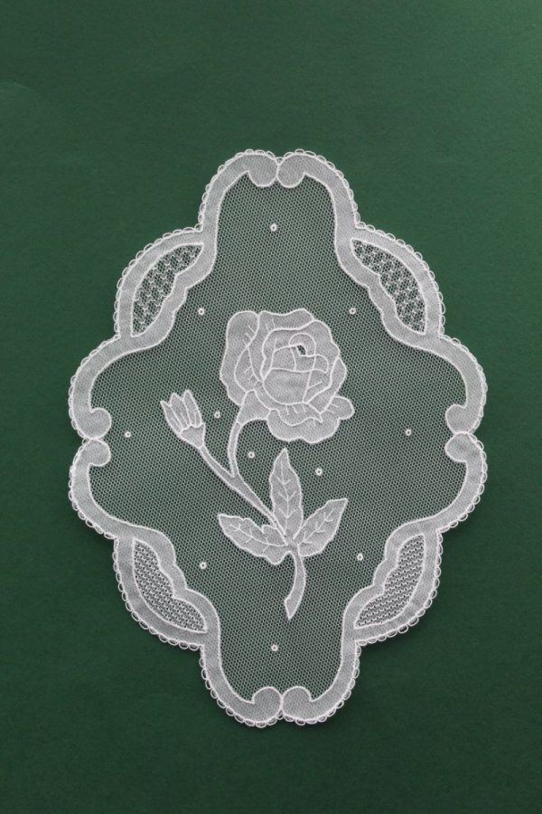 Carrickmacross Lace Rose