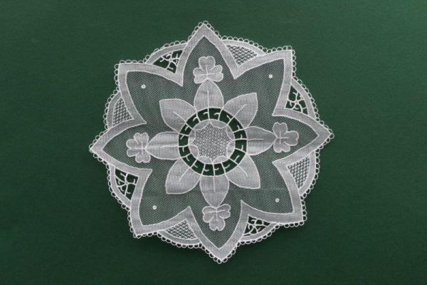 Carrickmacross Lace Star Mat