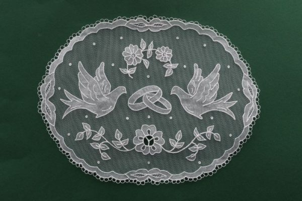 Carrickmacross Lace Wedding Piece