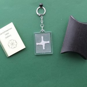 Carrickmacross Lace St Bridget's Cross Keyring